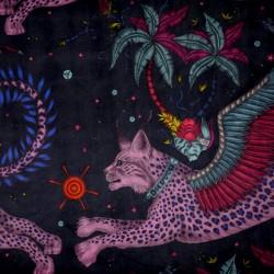 Velours Lynx marine - Emma...