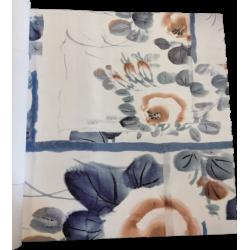 Papier peint Anastasia bleu...