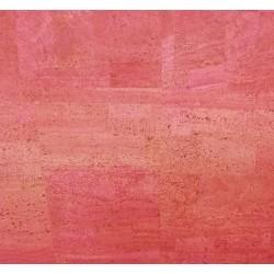 Tissu de liège Fuchsia