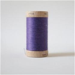 Bobine fil coton bio violet...