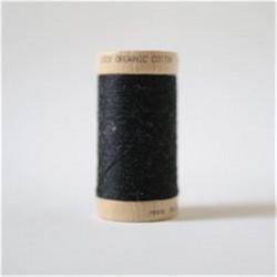 Bobine fil coton bio Noir -...