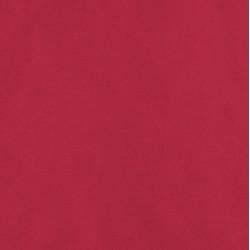 Popeline bio rouge